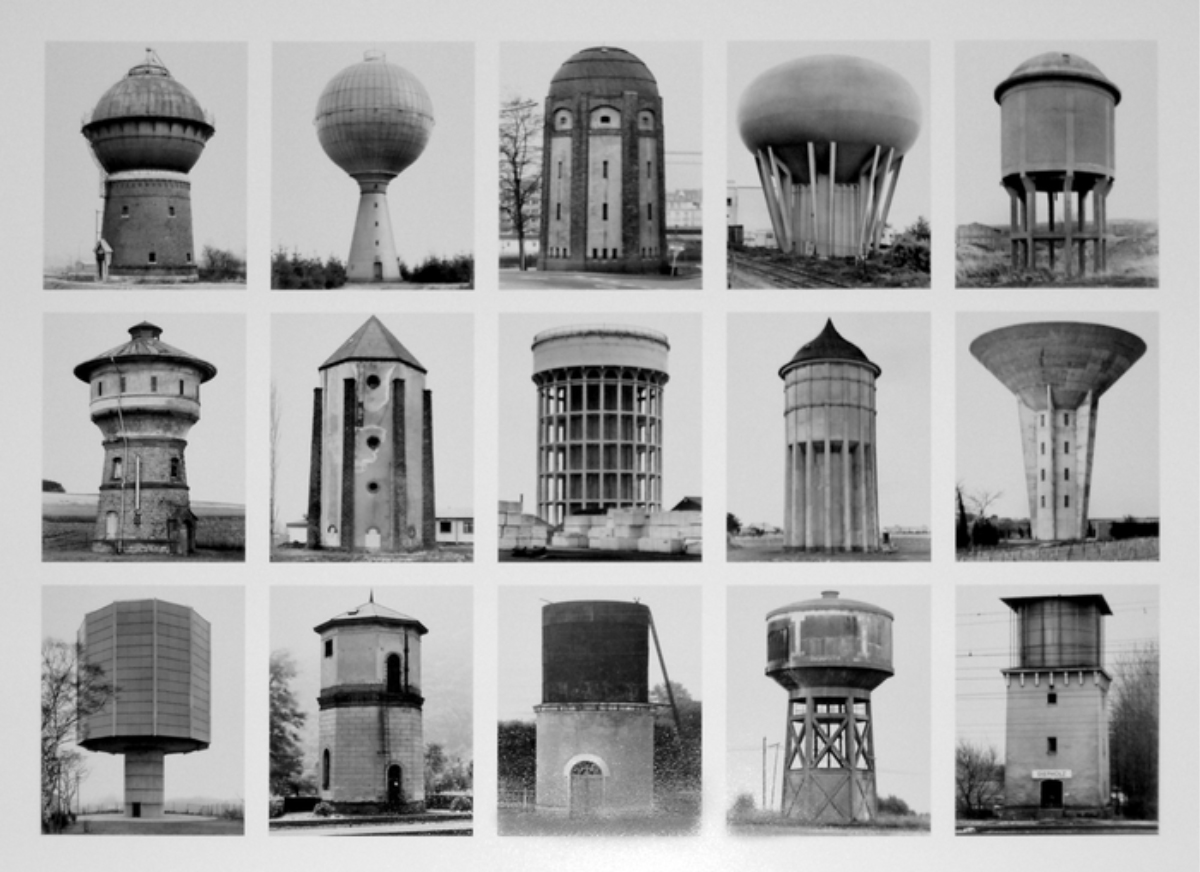 The Bechers, Watertowers